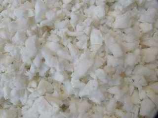 Flocos de espuma para encher almofadas