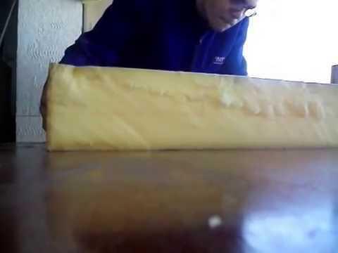 Bloco de espuma para sofá