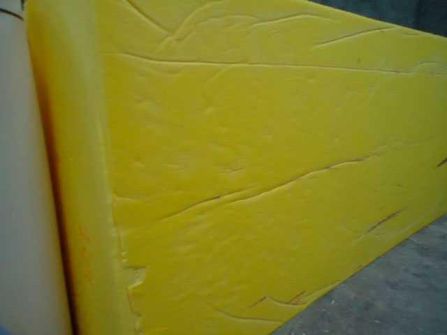 Bloco de espuma para sofá em metro